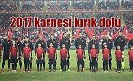 A Milli Futbol Takımı, 2017 karnesi: Beklentileri karşılamadı