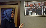 Bakan Kaya'nın odasında AA'nın 15 Temmuz fotoğrafı asılı