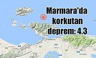 Balıkesir'de deprem, Balıkesir 4.3 ile sallandı