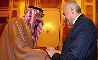 Başbakan Yıldırım Suudi Arabistan Kralı Selman ile görüştü