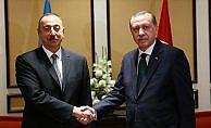 Erdoğan, Azerbaycan Cumhurbaşkanı Aliyev'le görüştü