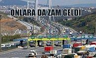 Son Dakika, Köprü ve otoyol ücretleri 2 ocakta zamlı olacak