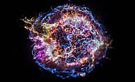 Süpernova kalıntısındaki maddelerin renk cümbüşü görüntülendi