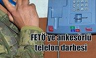 FETÖ'ye 'ankesörlü telefon' darbesi
