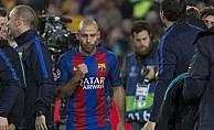 Mascherano, Barcelona'ya veda etti