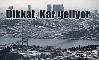 Son Dakika Hava Durumu, İstanbul'da kar bekleniyor