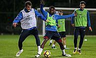 Trabzonspor'da N'Doye de antrenmana katıldı