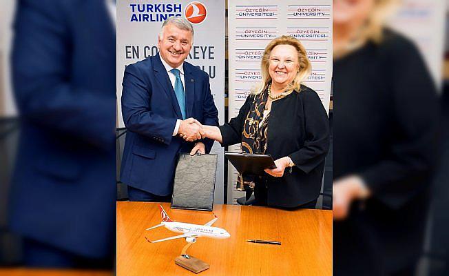 Türk Hava Yolları ve Özyeğin Üniversitesi iş birliği yaptı