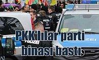 Almanya'da PYD/PKK yandaşları SPD binasını bastı