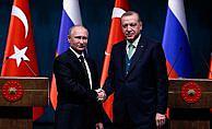 Cumhurbaşkanı Erdoğan'dan Putin'e taziye