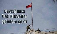 Afrin'e Türk bayrağı çekildi: TSK ve ÖSO, denetimi sağladı