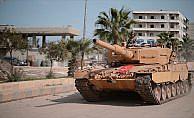Direnemeyeceğini anlayan teröristler Afrin'den kaçtı