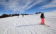 Kartalkaya'da kayak mevsimi kapandı