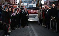 Vicdan Konvoyu'na İzmirli kadınlardan destek