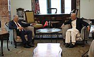 Afganistan Cumhurbaşkanı Gani Başbakan Yıldırım'ı kabul etti