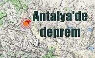 Antalya Akseki'de deprem; Antalya depremi Konya ilçelerinde hissedildi