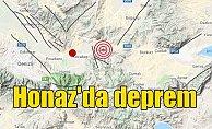 Denizli Honaz'da deprem: Honaz 4.3 ile sallandı