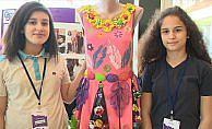 Genç tasarımcılar bilimsel projeleriyle yarıştı