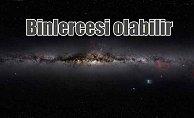 Samanyolu'nun merkezinde on bin kara delik olabilir