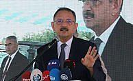 Çevre ve Şehircilik Bakanı Özhaseki: Su fakiri bir ülkeyiz, o nedenle israf edemeyiz