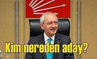 CHP Milletvekili adayları; Sürpriz isimler var