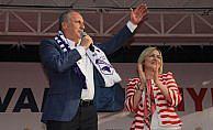 CHP'nin cumhurbaşkanı adayı İnce Sinop'ta