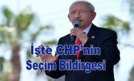 İşte CHP'nin seçim bildirgesi