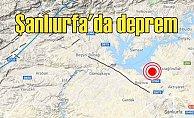 Son depremler | Şanlıurfa'da deprem oldu, 4.2