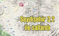 Son depremler | Seydişehir'de deprem 3.5