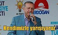 Cumhurbaşkanı Erdoğan: Kendi projelerimizle yarışıyoruz
