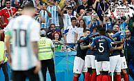 Gol yağmurundan galip çıkan Fransa