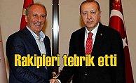 İnce ve Karamollaoğlu, Erdoğan'ı arayarak tebrik etti