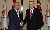 İnce'den Cumhurbaşkanı Erdoğan'a tebrik