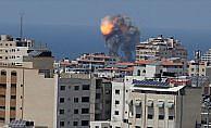 İsrail Gazze'de Hamas'a ait 10 hedefi vurdu