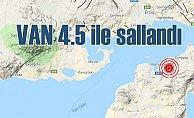 Van'da deprem oldu | Van Gürbulak 4.5 ile sallandı
