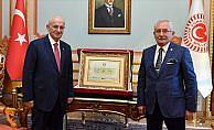 Cumhurbaşkanı Erdoğan'ın mazbatası Meclis'te