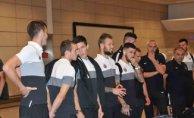 Beşiktaş'ın rakibi Partizan İstanbul'a geldi