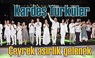 Kardeş Türküler 25. yılını Bodrum'da sahne aldı