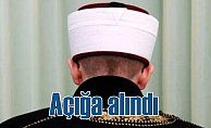 Cami'de skandala imza atan imam açığa alındı