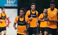 Galatasaray'da Kasımpaşa maçı mesaisi tüm hızıyla devam ediyor