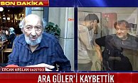 Ara Güler'i kaybettik: Ünlü sanatçı hastanede can verdi