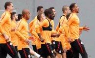 Galatasaray Bursaspor maçına hazır