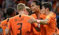 Hollanda, Almanya'yı farklı yendi
