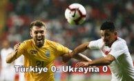 A Milli Takım Ukrayna ile berabere kaldı