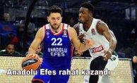 Anadolu Efes 78- Panathinaikos 62
