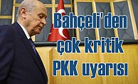 Bahçeli: PKK'lı teröristlere teknolojik saldırı eğitimi veriliyor