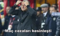 Fatih Terim'in maç cezaları kesinleşti