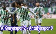 A.Konyaspor evinde rahat kazandı