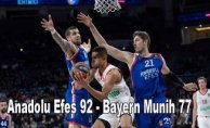 Anadolu Efes Bayern Munih'i ezdi geçti