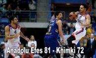 Anadolu Efes galibiyet serisine devam etti
